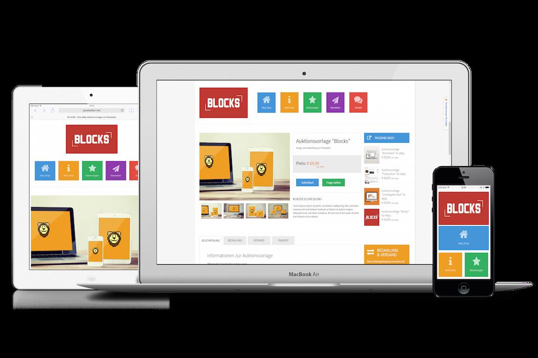 Blocks Angebotsvorlage Pixelsafari E Commerce Solutions