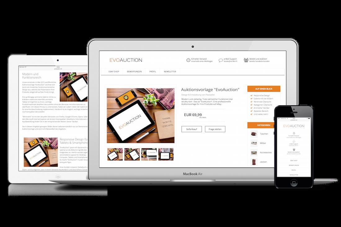 Evoauction Angebotsvorlage Pixelsafari E Commerce Solutions